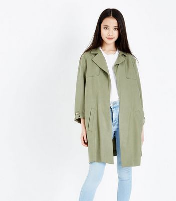 Teens Khaki Lightweight Mac