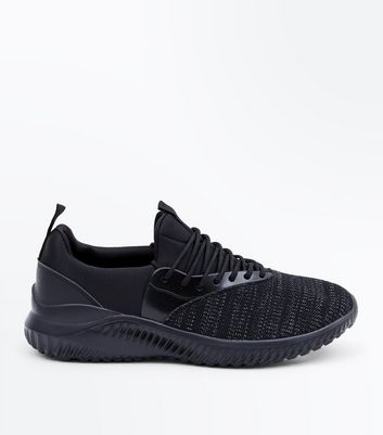 Black Runner Trainers