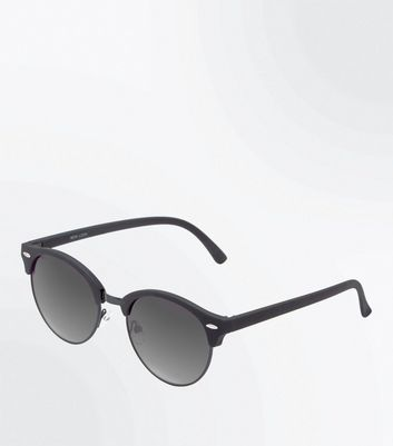 Black Smoke Tinted Lens Sunglasses