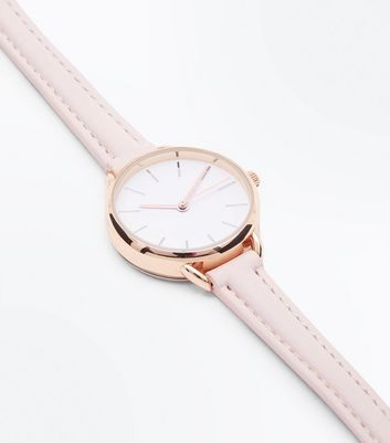 pink-skinny-strap-curve-shoulder-watch by new-look