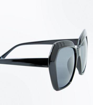 Angular Oversized Sunglasses - Black New Look ct9YAd6C
