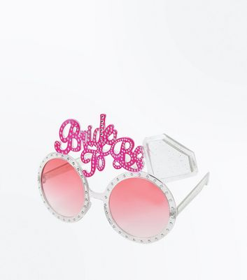 Silver Bride To Be Sunglasses