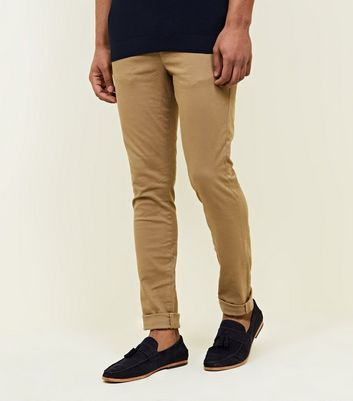 Stone Super Skinny Stretch Chinos