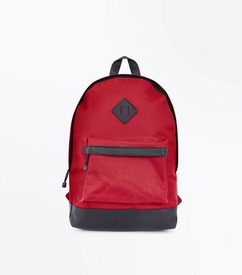 Red Handle Top Backpack