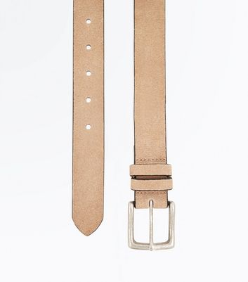 Off White Suede Belt