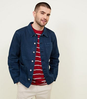 Blue Denim Worker Jacket