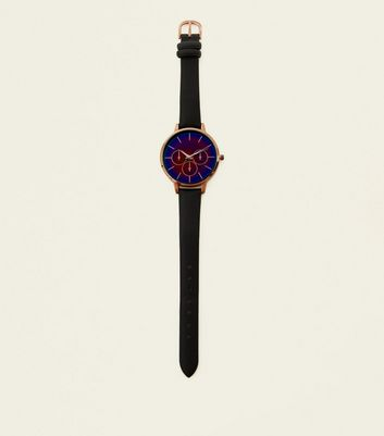 Black Ombré Dial Watch