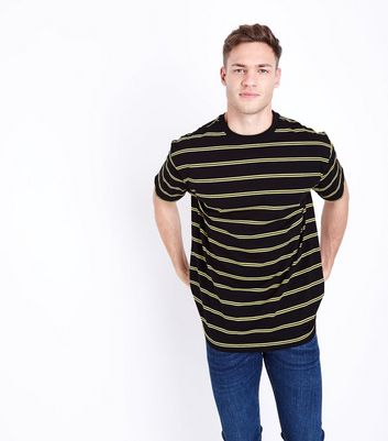 Black and Yellow Striped T-Shirt