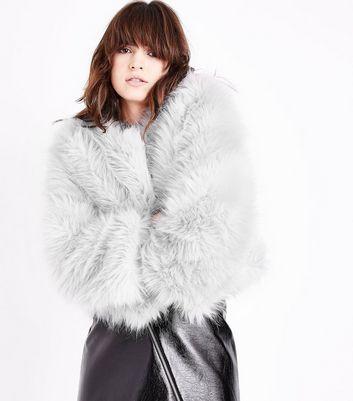 manteaux femme manteaux hiver longs fourrure new look. Black Bedroom Furniture Sets. Home Design Ideas