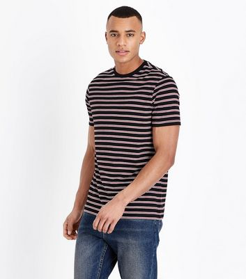 Red and White Stripe T-Shirt