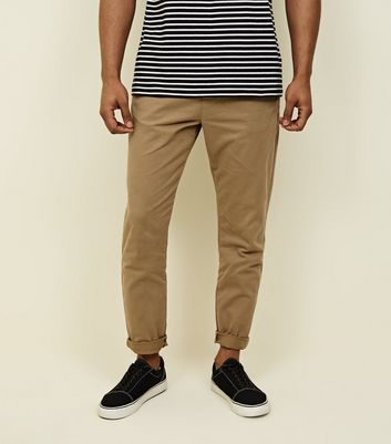 Stone Tapered Chinos