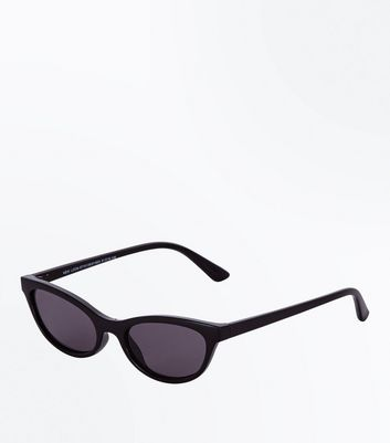 Black Small Cat Eye Sunglasses