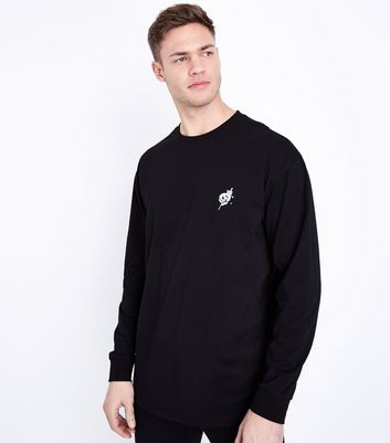 Official For Sale Sale View T-Shirt With 1992 Embroidery In Black - Black New Look Best Prices For Sale Countdown Package Cheap Price Excellent pexNI2
