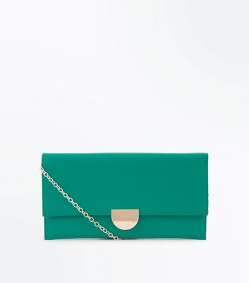 Dark Green Clutch Bag