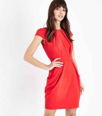 New Look Curve - Robe à manches volantées avec imprimé floral monochrome - NoirNew Look Plus Prix pas Cher Incroyable s3dL8ve8