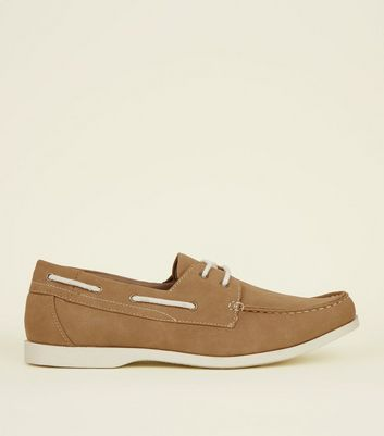 Stone Perforated Boat Shoes