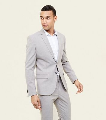 Stone Stretch Suit Blazer