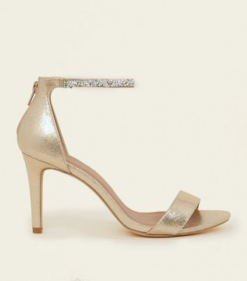 New Look Wide Fit WIDE FIT TOLL - Sandals - gold uW7vTDix