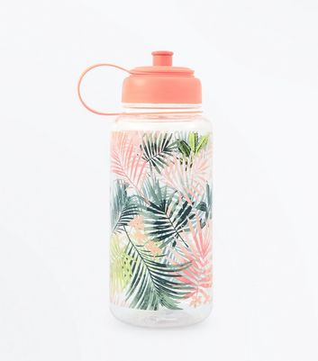 Multi Coloured Floral Water Bottle