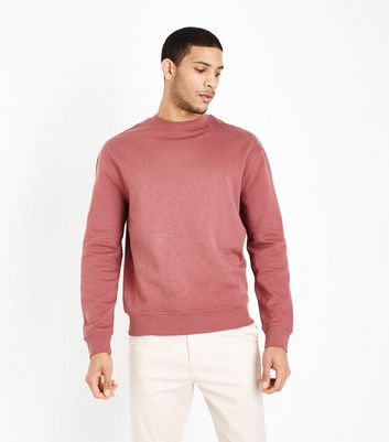Plum Crew Neck Sweatshirt
