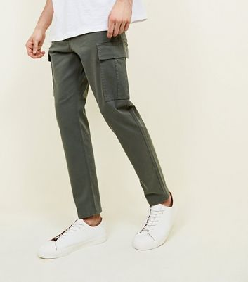 Olive Cargo Trousers