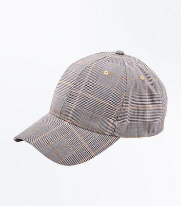 Grey Prince of Wales Check Cap