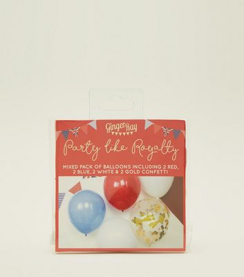 Ginger Ray Multi Coloured Wedding Balloons