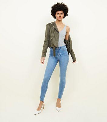 India - Jean super skinny ultra doux - Bleu rincé - BleuNew Look hEtKvTuZHM