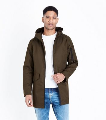 Khaki Hooded Parka