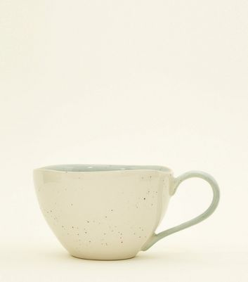 Mint Green Speckled Mug