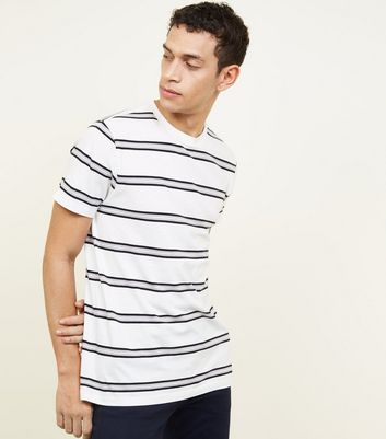 Off White Double Stripe T-Shirt
