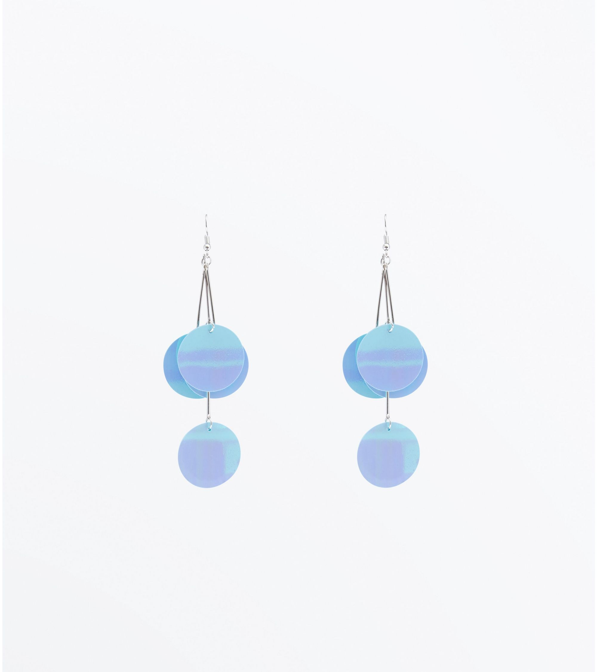 statement kate bright spade blue earrings zoom sale star