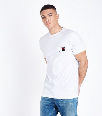 White Colorado Embroidered T Shirt by New Look