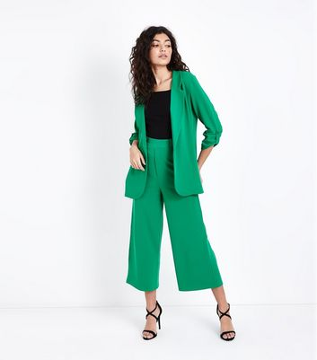 Cameo Rose Green Culottes