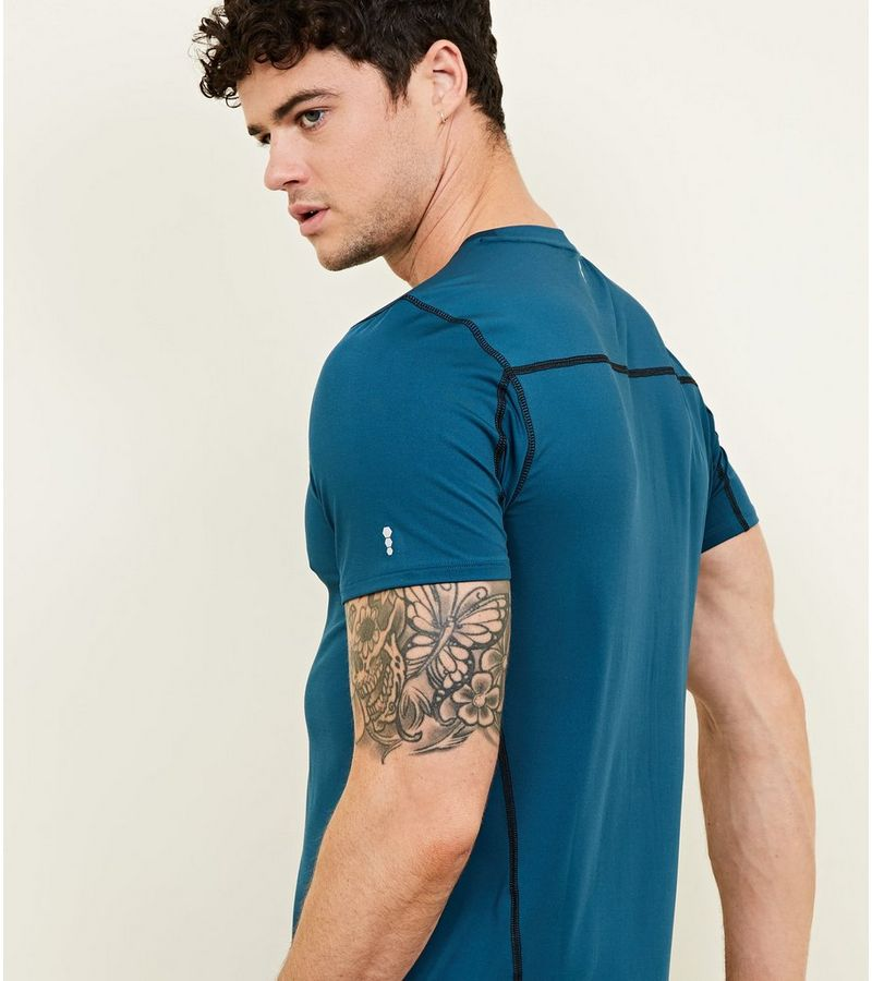 New Look - sportliches stretch-t-shirt - 6