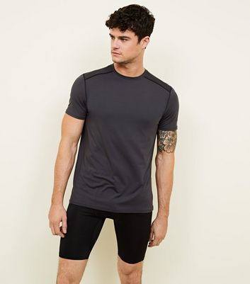 Black Sports Stretch Cycling Shorts