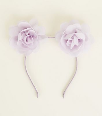 Lilac Confetti Cat Ears