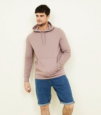 Lilac Pocket Front Hoodie
