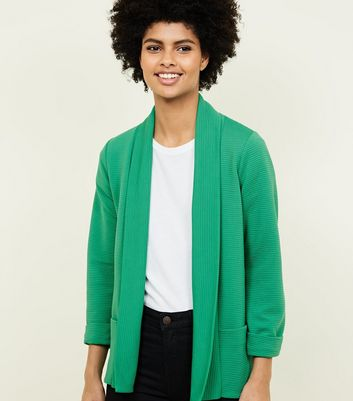 Cameo Rose Green Ribbed Jacket