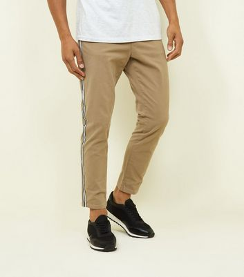 Stone Side Tape Tapered Chinos
