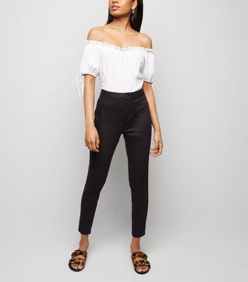 Petite Black High Waist Super Skinny Jeans