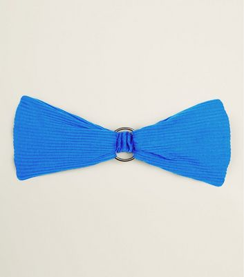 Blue Ring Front Headband