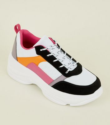 Multi Colour Ultra Chunky Trainers