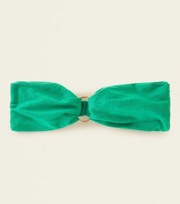 Green Ring Front Headband