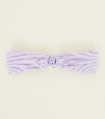 Lilac Ring Front Headband