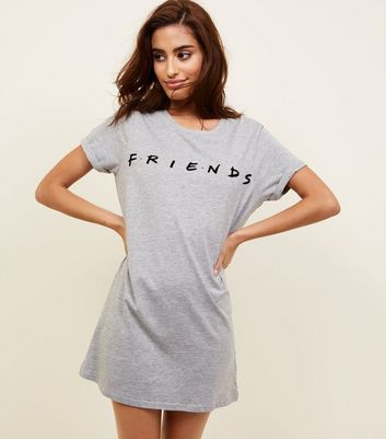 Grey Friends Slogan Nightshirt
