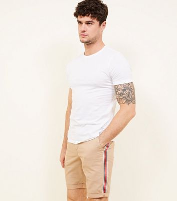 Short slim taupe