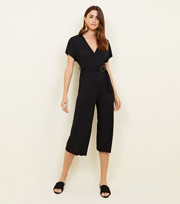 black-ribbed-belted-jumpsuit by new-look