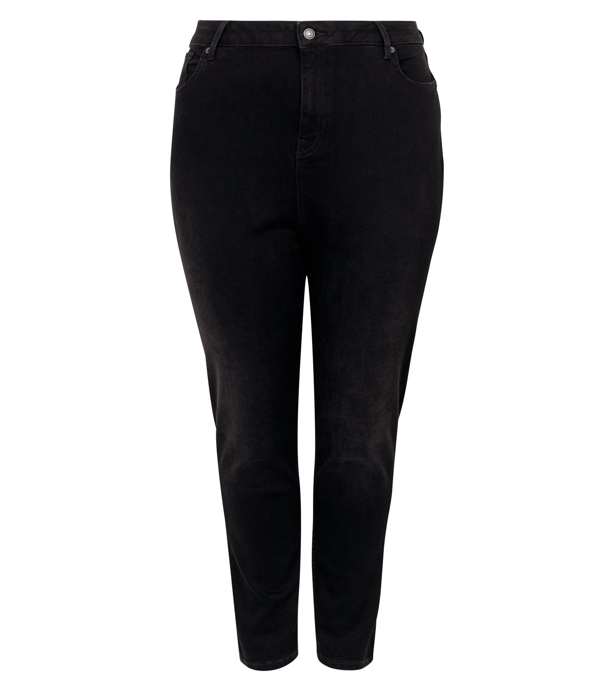 7981e772f New Look Curves Black Lift And Shape Skinny Jeans at £25.99 | love ...