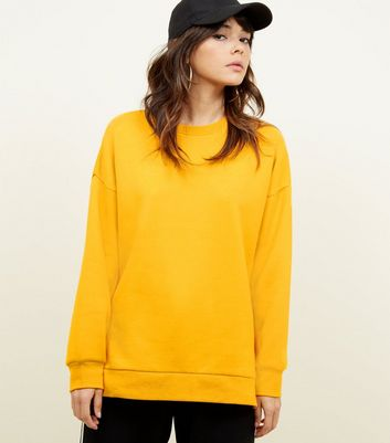 Sweat oversize orange vif